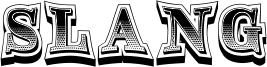 Slang Font