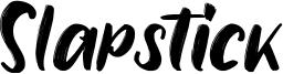 Slapstick Font