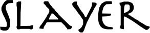 Slayer Font