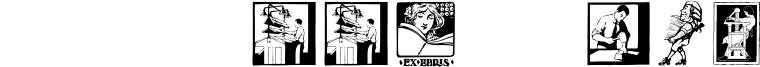 SL Book Arts Font