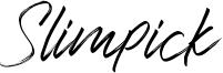 Slimpick Font