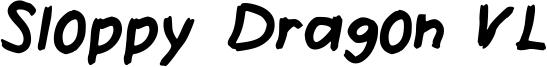 Sloppy Dragon VL Font