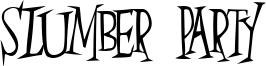Slumber Party Font
