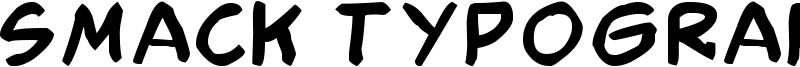 Smack Typographik Font