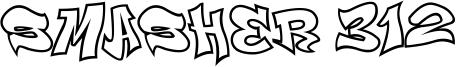 Smasher 312 Font
