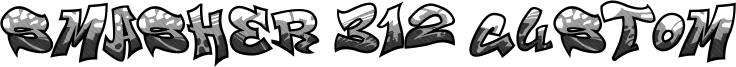 Smasher 312 Custom Font