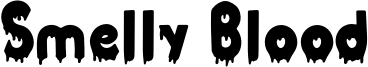 Smelly Blood Font