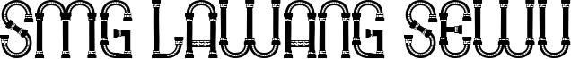 SMG Lawang Sewu Font