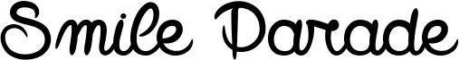 Smile Parade Font