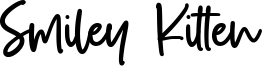 Smiley Kitten Font