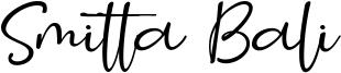 Smitta Bali Font