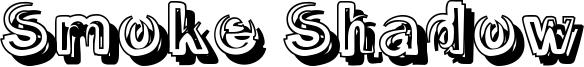 Smoke Shadow Font