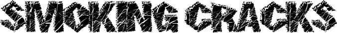 Smoking Cracks Font