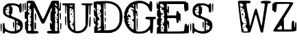 Smudges WZ Font