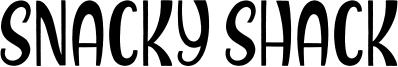 Snacky Shack Font