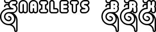 Snailets BRK Font