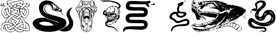 Snake Mix Font
