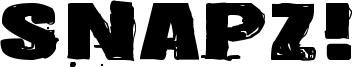 Snapz! Font