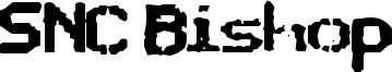 SNC Bishop Font