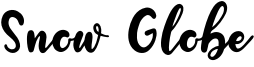 Snow Globe Font