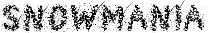 Snowmania  Font