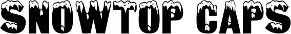 Snowtop Caps Font