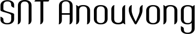 SNT Anouvong Font