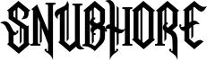 Snubhore Font