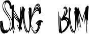 Snug Bum Font