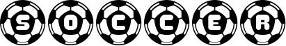 Soccer Font