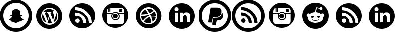 Social Circles Font