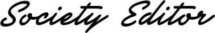 Society Editor Font
