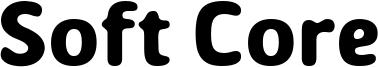 Soft Core Font