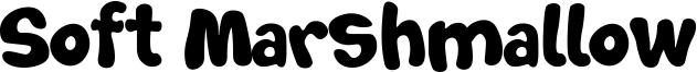 Soft Marshmallow Font