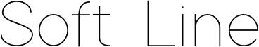 Soft Line Font