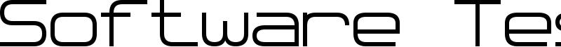 Software Tester 7 Font