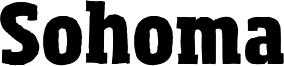 Sohoma Font