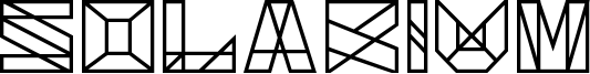 Solarium Font