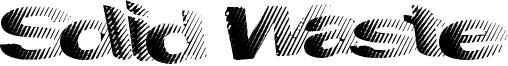 Solid Waste Font