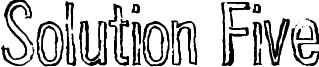 Solution Five Font
