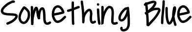 Something Blue Font