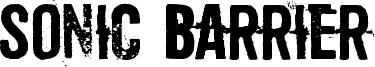 Sonic Barrier Font