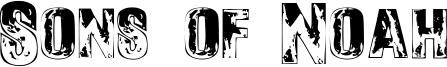 Sons of Noah Font