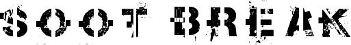 Soot Break Font