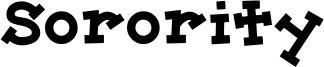 Sorority Font