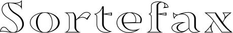 Sortefax_026.otf