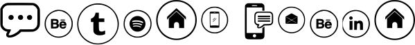 Sosmed Phone Font