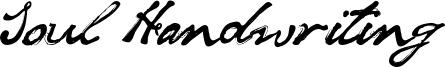 Soul Handwriting Font
