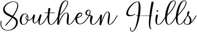 Southern Hills Font