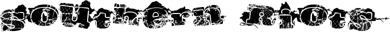 Southern Riots Font
